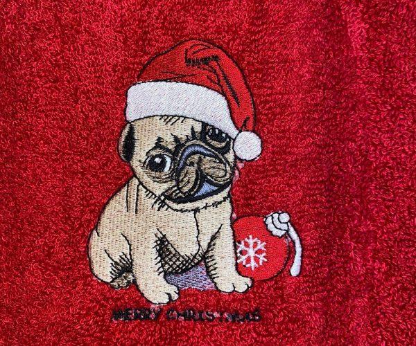 pug-towel